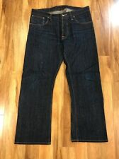 Nudie Jeans - Regular Ralf Dry Selvedge Tagged 34/34 (36 X 28)