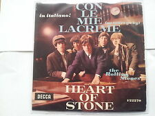 Rolling Stones - Con le mie lacrime 7'' Single SUNG IN ITALIAN