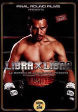Libra X Libra: La Historia De Juan Manuel Marquez DVD  BRAND NEW