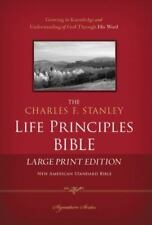 The Charles F. Stanley Life Principles Bible (2015, Hardcover)