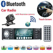 "4.1"" 1DIN Remote Autoradio Touch Screen Bluetooth MP5 Player RDS FM AUX + Caméra"