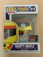 MARTY MCFLY NYCC 2019 Funko Pop Vinyl New in Mint Box + Protector