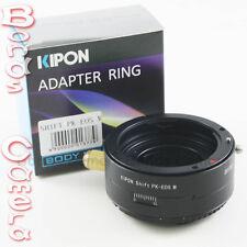 Kipon shift pentax k pk objectif à canon eos m ef-m mount adaptateur mirrorless caméra