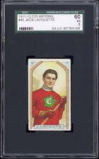 1911-12 C55 Imperial Tobacco #45 Jack Laviolette HOF SGC 60