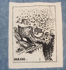 Lorax Patch - Unless... Forest Clearcut, Plant trees, Earth First, Punk Patches