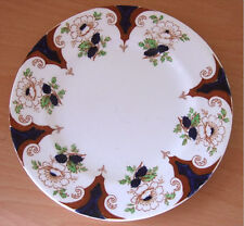 VICTORIAN SB&S ANCHOR SERVING PLATE - FLORAL BORDER