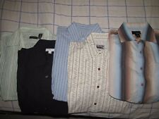 Men's Shirts Lot of 5 Size Small Rare Vintage Brand, Structure, Utopia & Apt. 9
