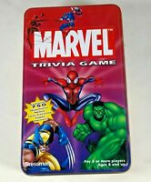 2003 MARVEL Trivia Card Game with Spiderman Collector Tin - 750 Questions - Hulk
