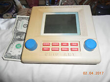 etch a sketch electronic   1986  vintage  works?  Ohio Art co.