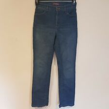 NYDJ NOT YOUR DAUGHTERS JEANS Marilyn Straight Leg Sz 0 (UK 4) #2531 -SC07