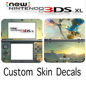 Custom Zelda Skin Decal Sticker Cover For New Nintendo 3DS XL Free Fast Ship