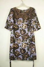 new! Jigsaw size 10 silk dress lace trim