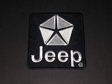 MOTORSPORTS MOTOR RACING SEW/IRON ON PATCH:- JEEP (c)