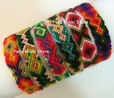 100 FRIENDSHIP BRACELETS from CUZCO CUSCO, PERU - Handmade with Wool FUNDRAISERS