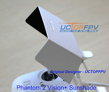 White DJI Phantom Sunshade Sunhood Adjustable Quick Install Fits All Models