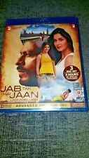 JAB TAK HAI JAAN Hindi Bollywood Blu-Ray Brand New & Sealed - Shahrukh Khan+Kaif