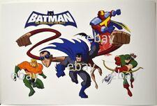Batman Brave & The Bold Print Dc - Green Arrow Aquaman Plastic Man & Red Tornado