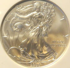 2008F SILVER EAGLE, NGC,  MS 69