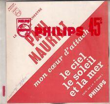 """45 T SP  PAUL MAURIAT  """"LE CIEL LE SOLEIL ET LA MER"""" (ENCART JUKE BOX)"""