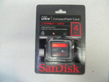 SanDisk Ultra 4GB CompactFlash Card (Brand New) Up To 30 MB/s 200x