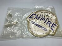 MARSTON'S OLD EMPIRE BITTER PUMP CLIP - BEER PUB HOME BAR BITTER BADGE ALE
