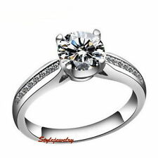 Alloy White Gold Filled Fashion Rings