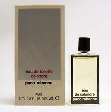 CALANDRE PACO RABANNE EAU DE TOILETTE  5 ML. 0.17 FL.OZ. Interior caja manchada