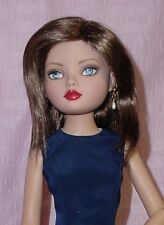 """Monique Gold Doll Wig 7 1/4"""" fits 16"""" Kish, Ellowyne, others, Synthetic Mohair"""