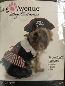 Pirate Dog Costume by Leg Avenue, New, Size XL