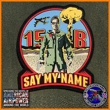 PVC B-52 Weapons School WIC Class 15B FRIDAY Patch 20th 23rd 69th 96th Bomb Sq