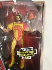 new MACHO MAN RANDY SAVAGE ACTION FIGURE 2016 WWE Wrestling Elite Flashback WWF