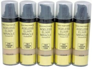Max Factor Ageless Elixir Miracle 2 in 1 Foundation Serum 30ml   SAND 60