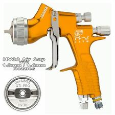 DeVilbiss GTi ProLite GOLD HV30 HVLP Waterbase Basecoat Spray Gun 1.3/1.4mm Tip