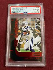 Edgerrin James 1999 Topps Stadium Club Rookie Card PSA 10 Gem Mt UM Colts