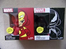 "VENOM or IRON-MAN Kidrobot Marvel 6.5"" MUNNY DIY Vinyl Figure Arts and Crafts"