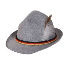 bbe35bd4b93 Mens Bavarian Beer Guy Hat Oktoberfest German Fancy Dress Accessory Beer  Festiva