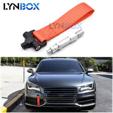 Tow Hook Towing Trailer Belt Strap Tow Ropes For Audi A4 A5 A7 Tuning Red Nylon