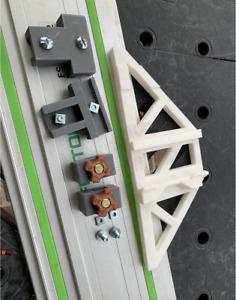 festool track rail square + festool rail parallel guide . High tension plastic