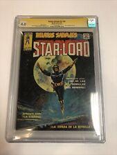 Starllord (1976) Spanish (CGC SS Stan Lee) 1st App Starlord   Relatos Salvajes
