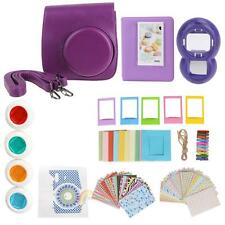 For Fujifilm Instax Mini 8 Instant Camera Accessory Selfie Bundles 9 in 1 Bag