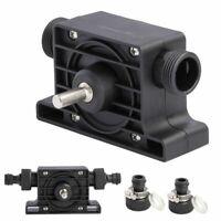 USA Electric Portable Drill Pump Self Oil Fluid Pump Water Pump Priming Transfer