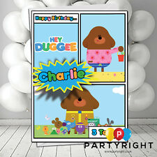Personalised Hey Duggee Kids Birthday Card A5 Large - Any Name