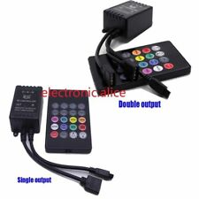 LED Music IR Controller 20key Remote Sound Sensor For 3528 5050 RGB LED Strip