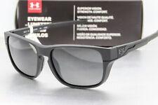 NEW UA UNDER ARMOUR PULSE SUNGLASSES Matte Black frame / Grey lens