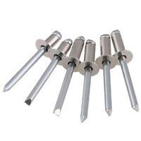 3.2mm,4.0mm,5mm STANDARD OPEN DOME HEAD A2 304 STAINLESS STEEL BLIND POP RIVETS