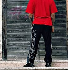 Raufbolde Streetwear Mesh Pant Sportfreund Black Trackies Bodybuilding Fitness