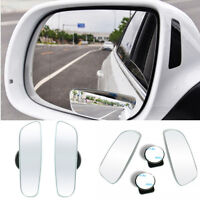 2pcs Hot Universal Car 360° Wide Angle Convex Rear Side View Blind Spot Mirror