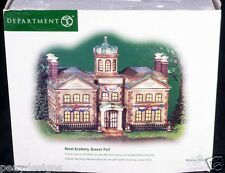 Dept 56 Dickens Village Naval Academy Queens Port Christmas Display