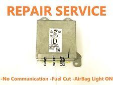 MAZDA GS1D-57K30 5WK43763 AIRBAG ECU SRS MODULE NO COMMUNICATION REPAIR SERVICE