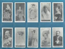 S.D.V. cigarette cards -  BRITISH ROYAL FAMILY - Full mint condItion full set